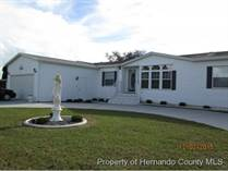 Homes for Sale in Brookridge, Brooksville, Florida $189,900