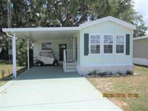 Homes for Sale in Majestic Oaks, Zephyrhills, Florida $25,000