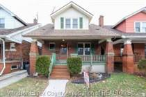 Homes Sold in Downtown, Windsor, Ontario $249,900