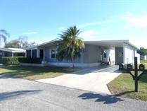 Homes Sold in Camelot Lakes MHC, Sarasota, Florida $34,900