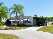 Homes for Sale in Spanish Lakes Fairways, Fort Pierce, Florida $15,900