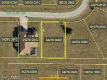 Lots and Land for Sale in Cape Coral, Florida $17,900