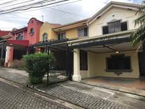 Homes Sold in Belén, Heredia $140,000