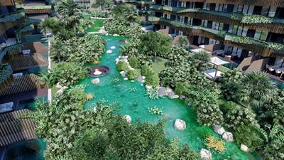 Amazing condo only 5 minutes walking to the beach, Tulum