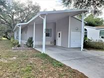 Homes for Sale in Southport Springs, Zephyrhills, Florida $61,000