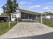 Homes for Sale in Arbor Oaks Mobile Home Park, Zephyrhills, Florida $39,000