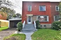 Homes for Sale in Notre-dame-de-Grâce, Montréal, Quebec $575,000
