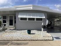 Homes Sold in Honeymoon MHP, Dunedin, Florida $40,000