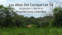 Lots and Land for Sale in Playa Hermosa, Guanacaste $60,000