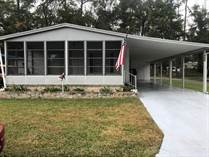Homes for Sale in Cloverleaf Farms, Brooksville, Florida $28,500
