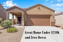 Homes for Sale in Tartesso, Buckeye, Arizona $208,000