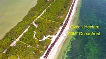 Lots and Land for Sale in Sian Ka'an, Quintana Roo $1,250,000