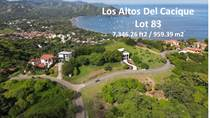 Lots and Land for Sale in Palo Alto, Playa Hermosa, Guanacaste $60,000