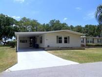 Homes Sold in Camelot Lakes MHC, Sarasota, Florida $26,500