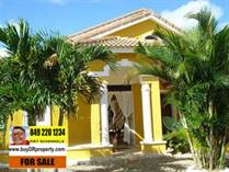 Homes for Sale in Playa Chiquita , Sosua, Puerto Plata $165,000