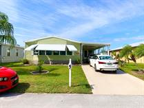 Homes for Sale in Spanish Lakes Country Club, Fort Pierce, Florida $14,500