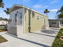 Homes for Sale in FOREST LAKE RV ESTATE, Zephyrhills, Florida $69,900