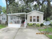 Homes for Sale in SOUTHERN CHARM, Zephyrhills, Florida $34,000