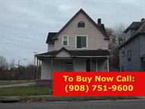 Homes for Sale in  Youngstown, Youngstown, Ohio $12,900