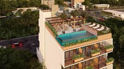 Magnificent 1 Bedroom 1 Bathroom Condo for Sale in Playa del Carmen DED 361