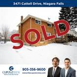 Homes Sold in Chippawa, Niagara Falls, Ontario $379,000