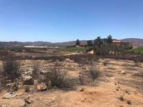 Lots and Land for Sale in valle guadalupe, Ruta del Vino, Ensenada B.C. , Baja California $215,000