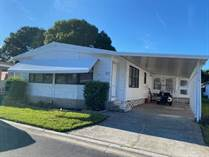 Homes for Sale in Southwind Mobile Home Park, Palm Harbor, Florida $91,500