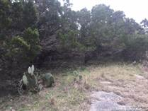 Lots and Land for Sale in New Braunfels, Texas $72,500