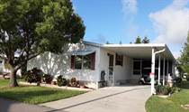 Homes for Sale in Country Place MHP, New Port Richey, Florida $65,500