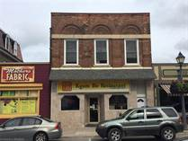 Commercial Real Estate for Sale in Wiarton, Ontario $379,000