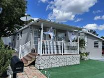 Homes for Sale in Three Lakes Mobile Home Park, Tampa, Florida $129,000