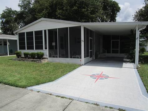 Home for Sale in Forest Lake Estates, Zephyrhills, Florida $18,000