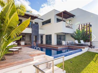 LUXURY HOUSE FOR RENT IN PUERTO CANCUN
