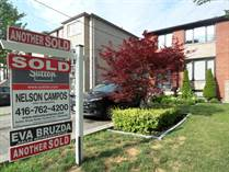 Homes Sold in Weston/St Clair, Toronto, Ontario $1,210,000