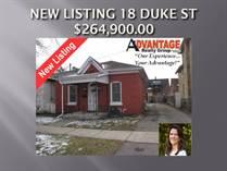 Homes Sold in North Ward, Brantford, Ontario $264,900