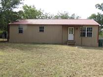 Homes for Sale in Freestone County, Fairfield, Texas $57,500