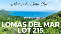 Lots and Land for Sale in Matapalo Beach , Guanacaste $105,000