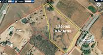 Lots and Land for Sale in Valle de Guadalupe, Ensenada, Baja California $283,500