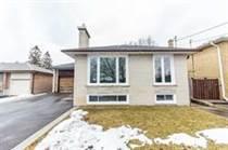 Homes for Sale in Kipling/The Westway, Toronto, Ontario $1,099,888
