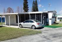 Homes for Sale in Sterling MHP, Lakeland, Florida $9,900