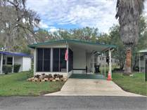 Homes for Sale in Foxwood Farms, Ocala, Florida $19,500
