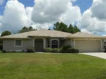 Homes for Sale in North Port, Florida $214,900