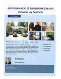 Condos for Sale in South Natick, Natick, Massachusetts $175,660