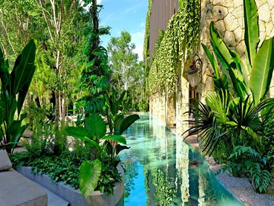 Furnished Studio w/Terrace For Sale in Coba Ave. Tulum, QR, MX
