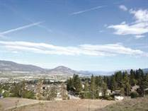 Lots and Land for Sale in Wiltse / Valley View, Penticton, British Columbia $309,000