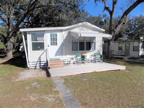 Home Sold in SWEETWATER RV PARK, Zephyrhills, Florida $13,995