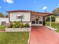 Homes for Sale in Blue Jay Mobile Home Park, Dade City, Florida $13,000