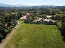 Lots and Land for Sale in Atenas, Alajuela $79,000