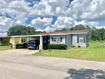 Homes for Sale in Country Meadows, Plant City, Florida $16,900