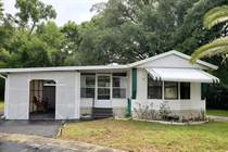 Homes for Sale in Three Seasons Mobile Home Park, Brooksville, Florida $24,500